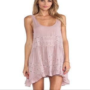 New Free people Slip Voile Trapeze x small